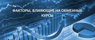 Факторы, влияющие на обменные курсы