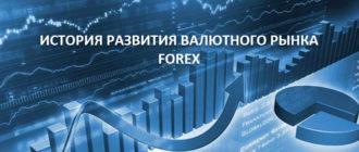 История развития валютного рынка FOREX