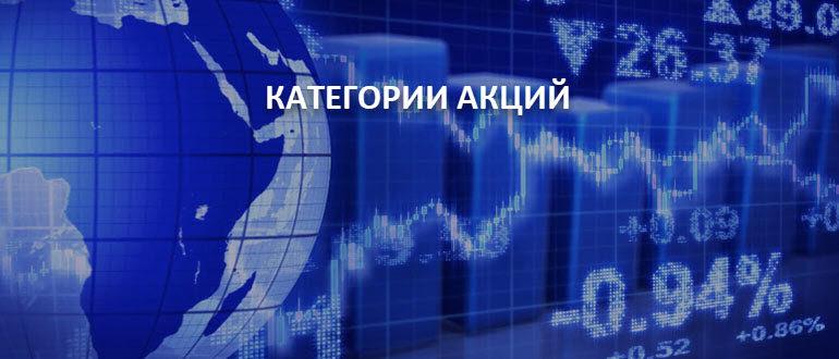 Категории акций