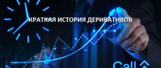 Краткая история деривативов