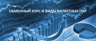 Обменный курс и виды валютных пар