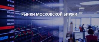 Рынки Московской Биржи