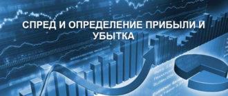Спред и определение прибыли и убытка