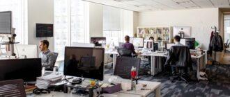 Офис - это маленькая жизнь